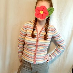 Roxy rainbow hoodie